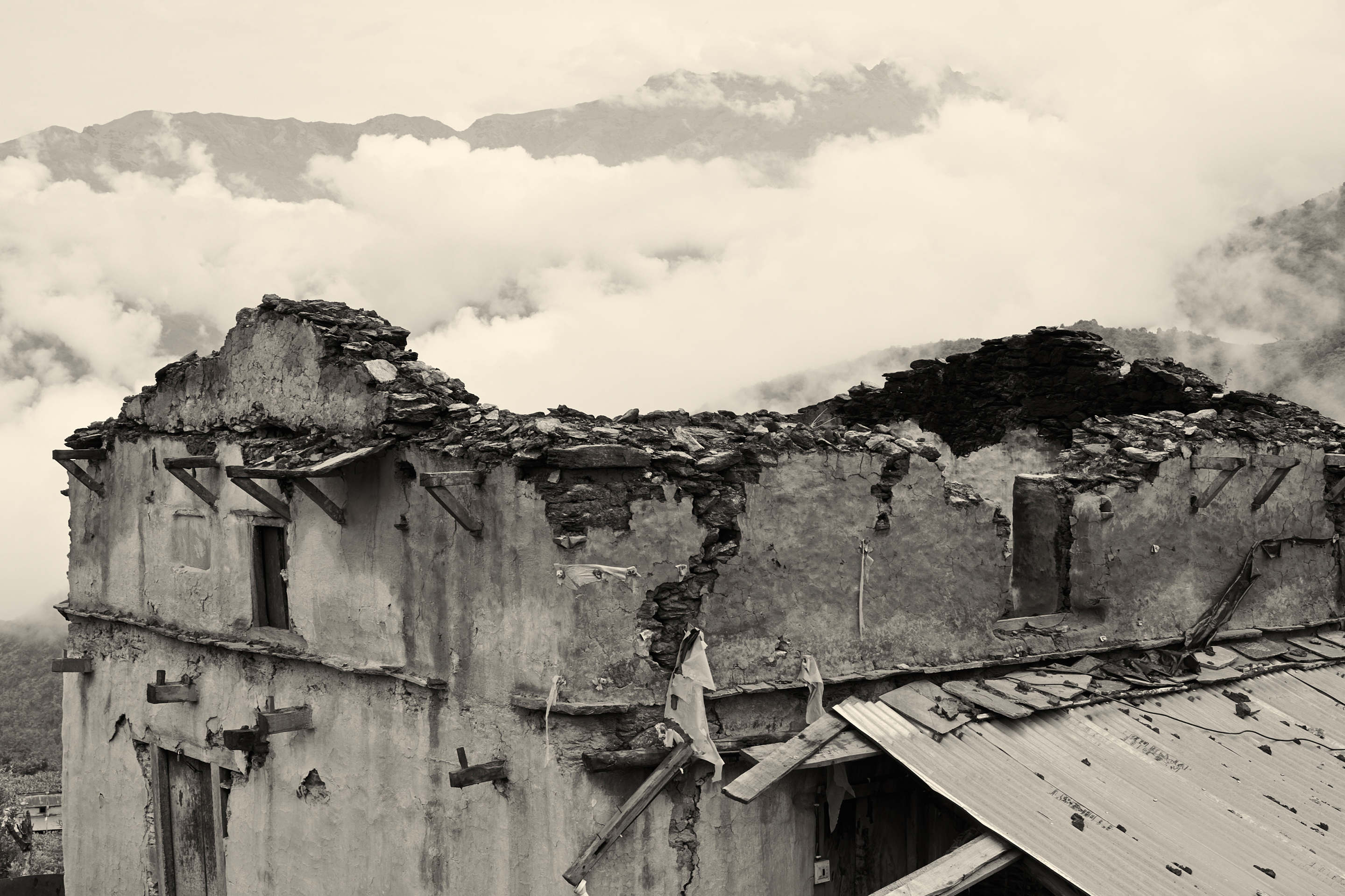 Gorka district, Nepal 2015. Earthquake.