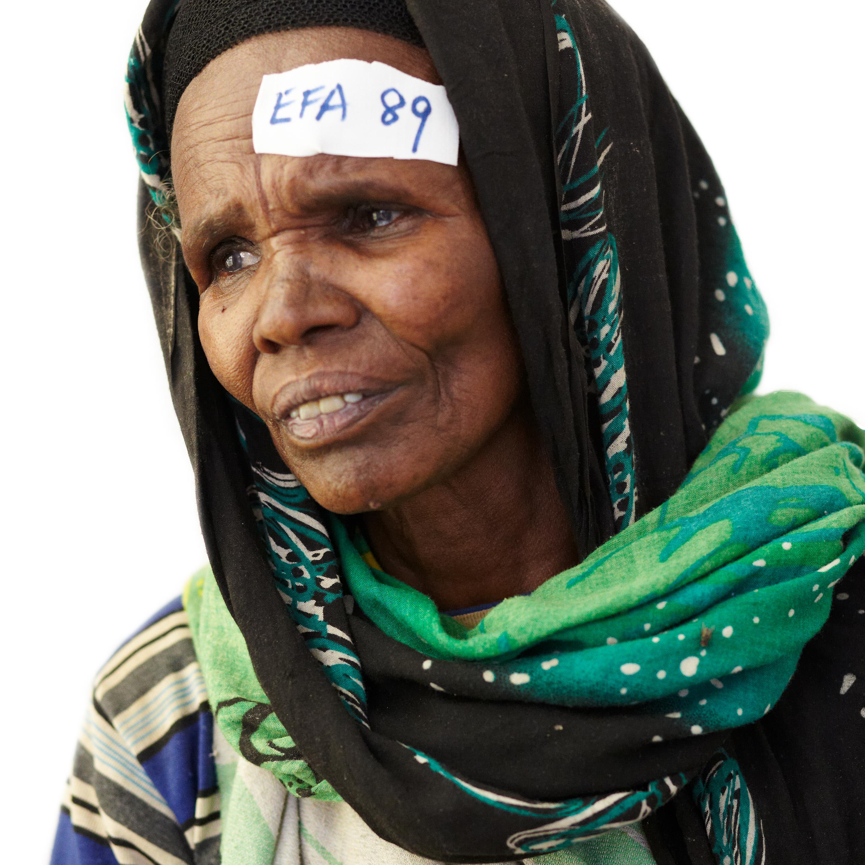 Ethiopia portrait cataract surgery.