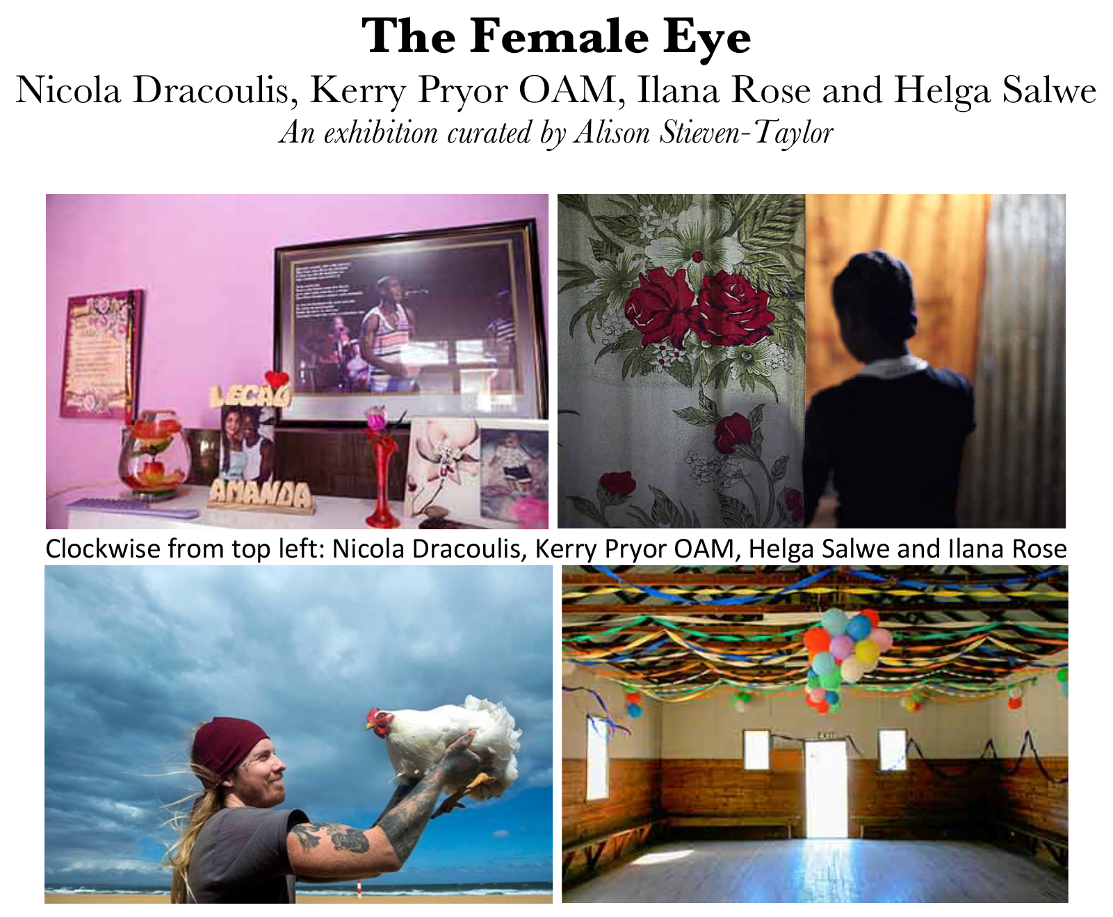 Photography Exhibiton The Female Eye